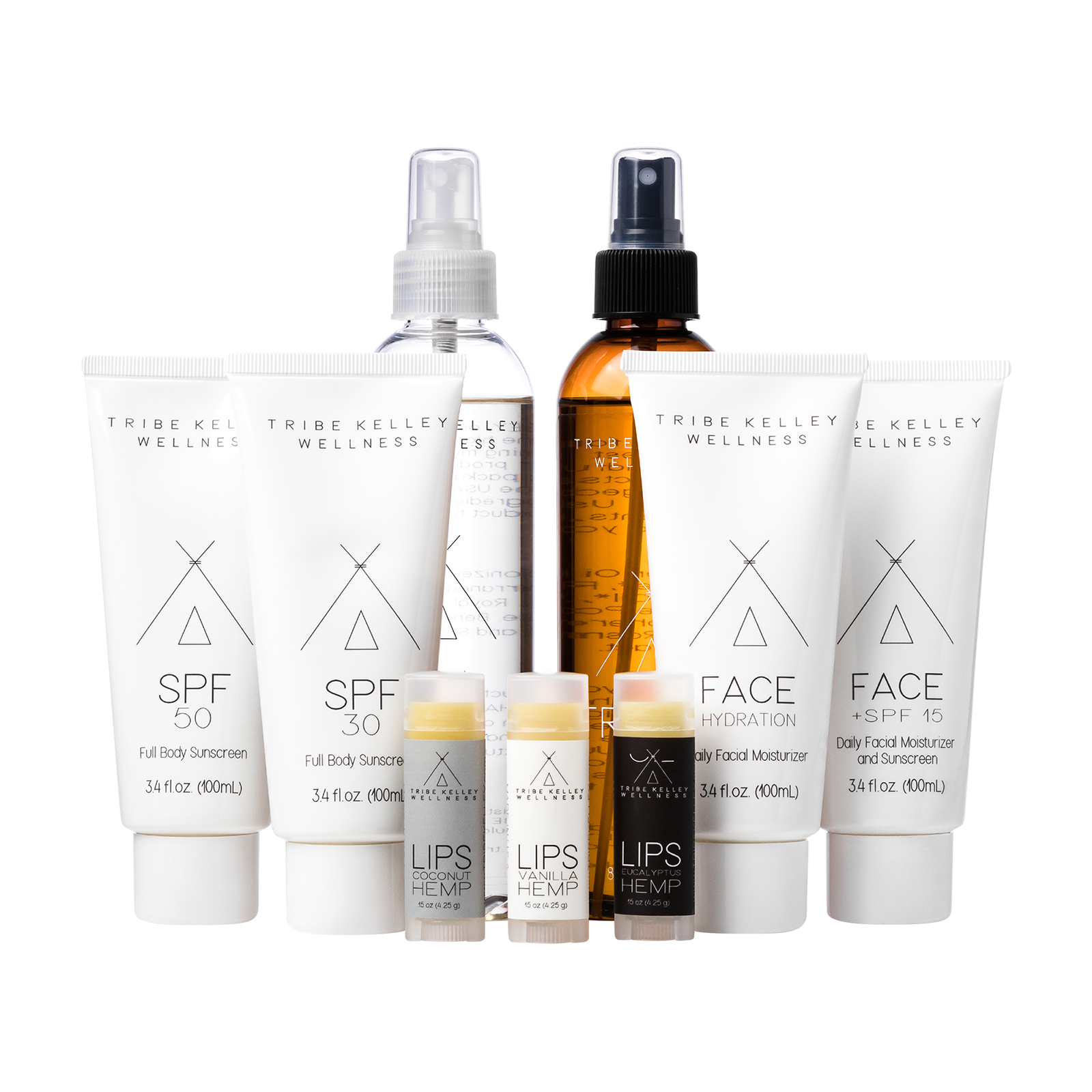 Skincare set product picture