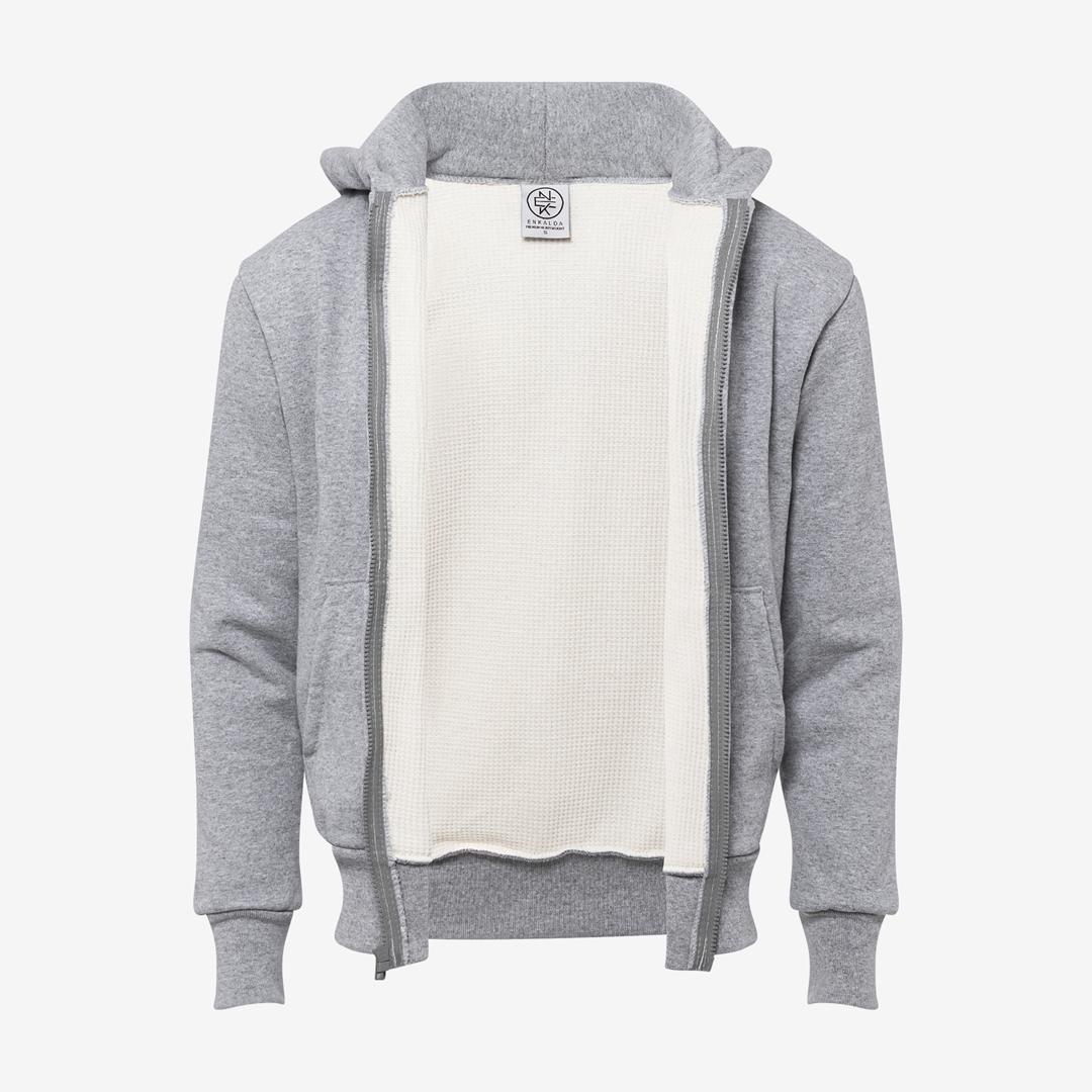 Enkalda Premium Heavyweight Thermal Lined Zipper Hoodie