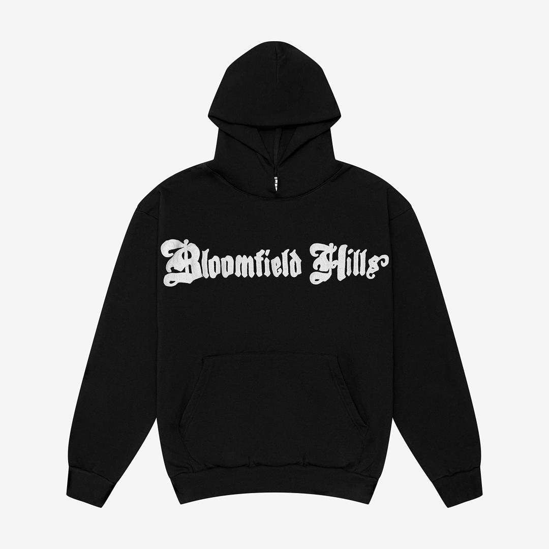 Bloomfield Hills Script Logo Hoodie