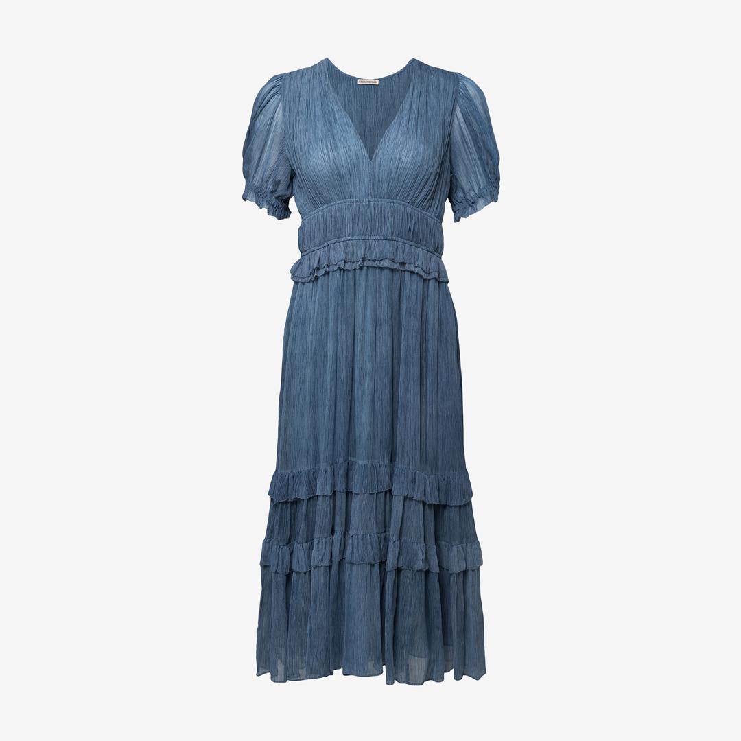 Erica Wilson blue dress