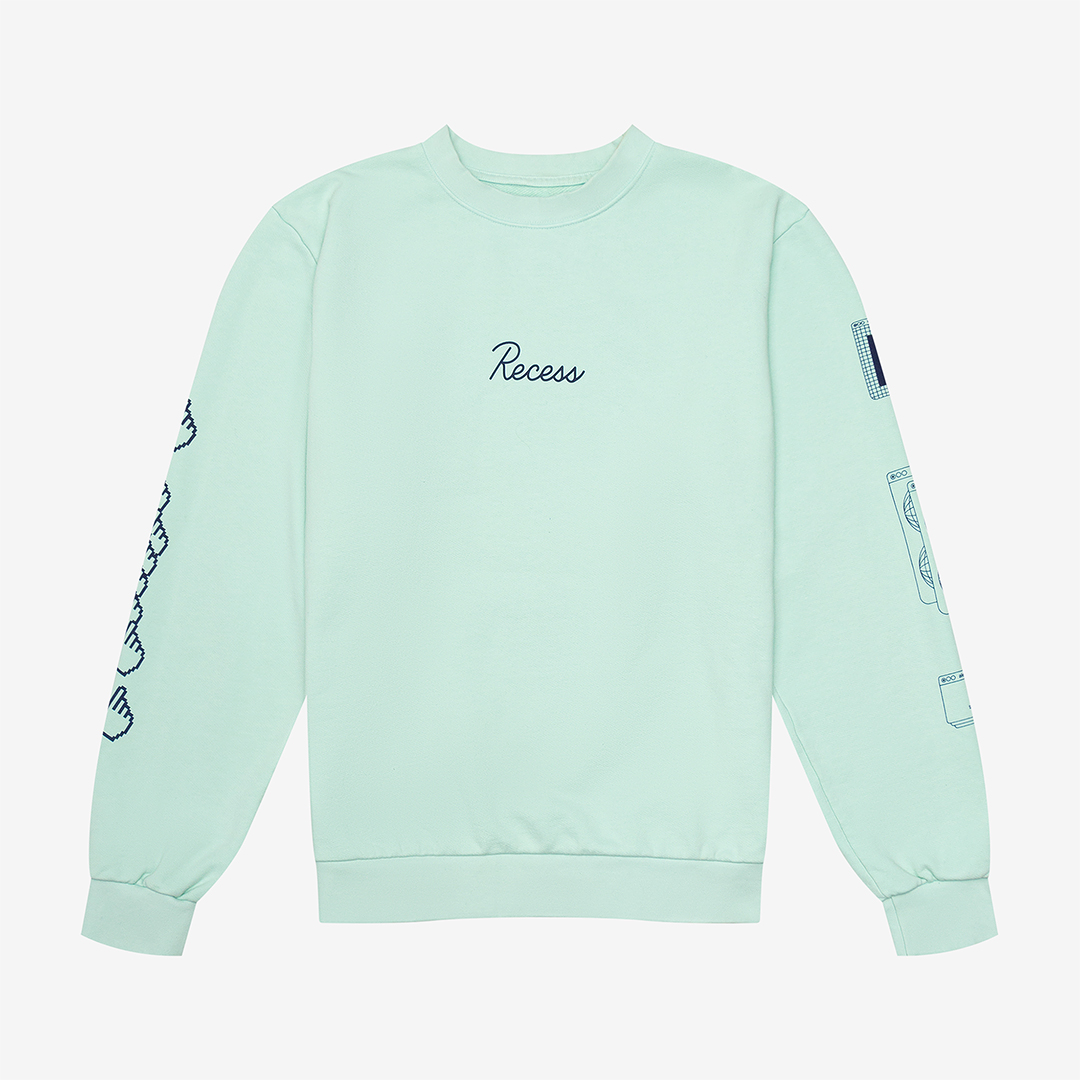 Light green Recess sweatshirt