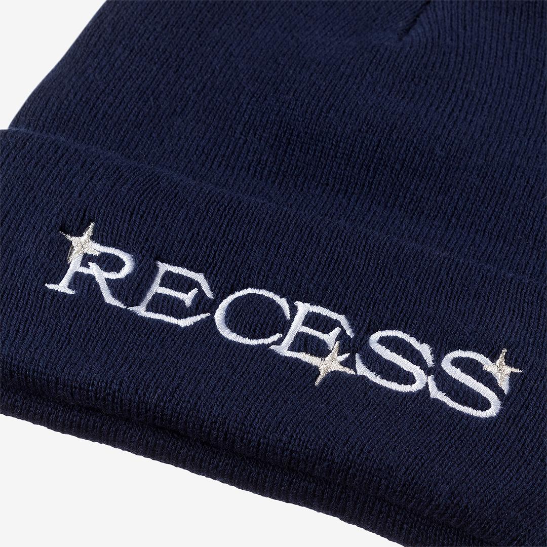 Recess blue winter hat