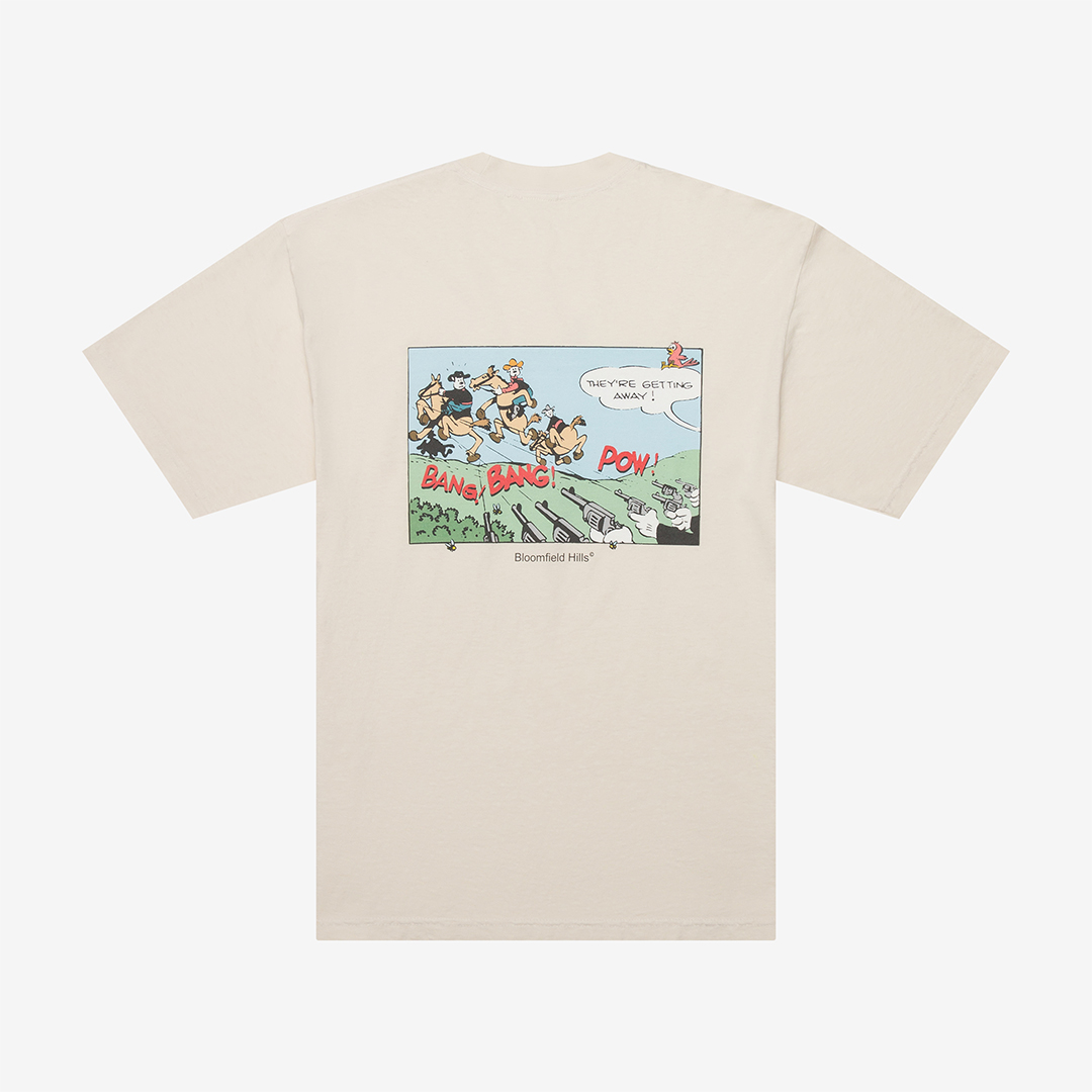 tshirt flat lay