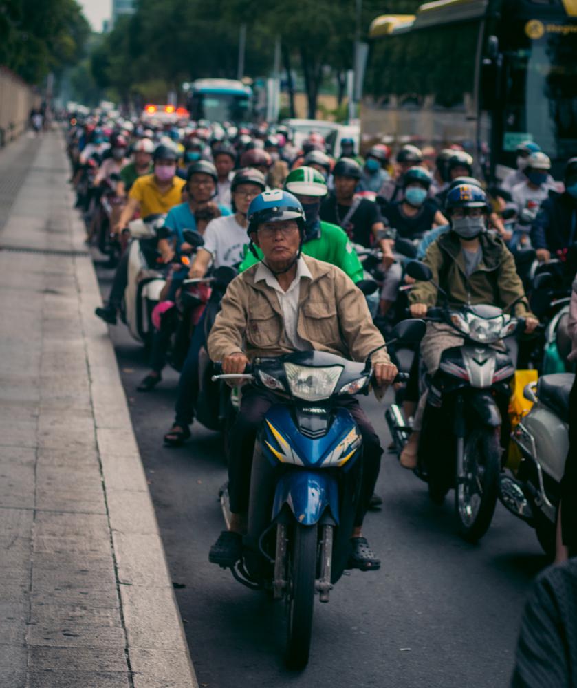 Ho Chi Minh Motorbikes