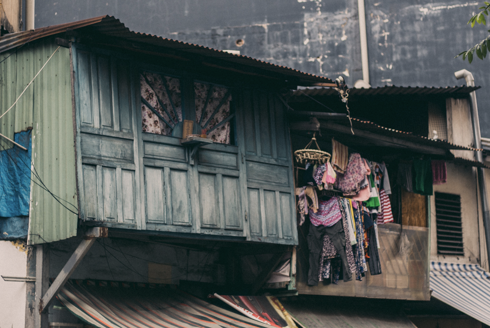 Ho Chi Minh houses