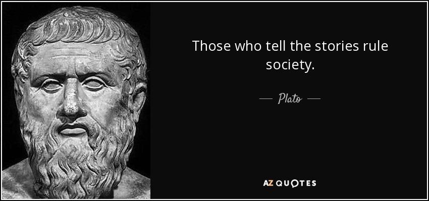 Plato stories quote