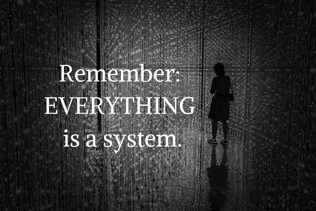 Everything is a system