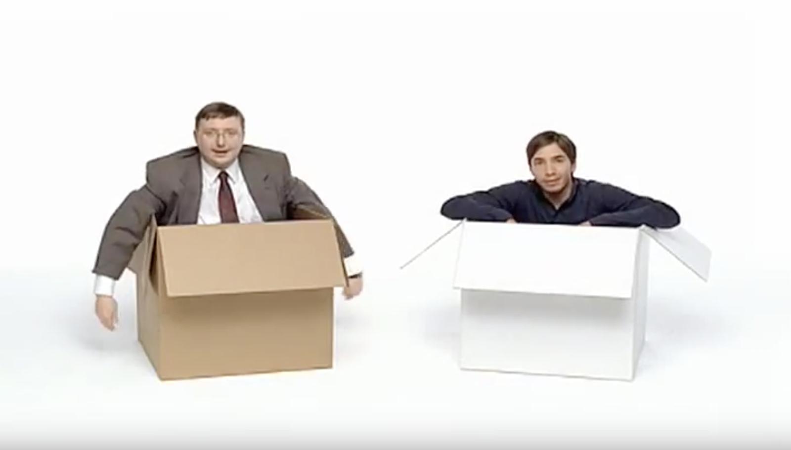 Apple vs Microsoft advertising video