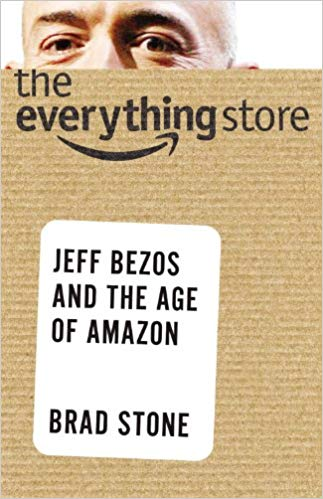 The Everything Store Book Cover - Brad Stone