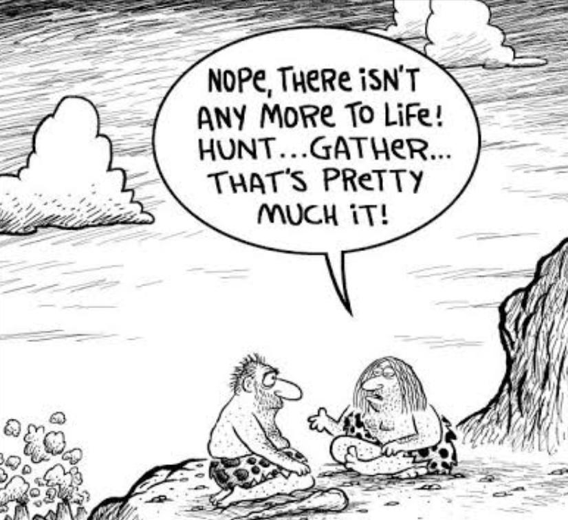 Cavemen Philosophy