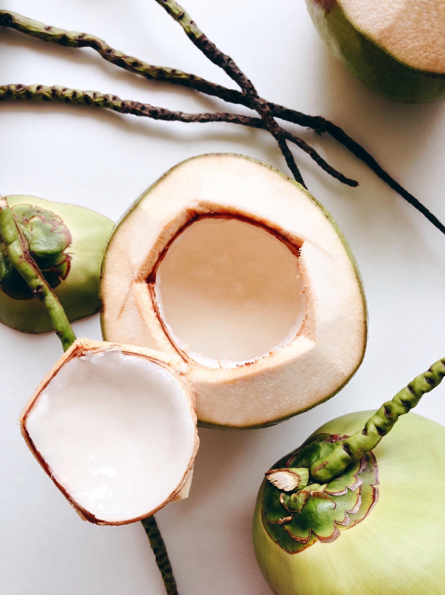 O que combina com água de coco?