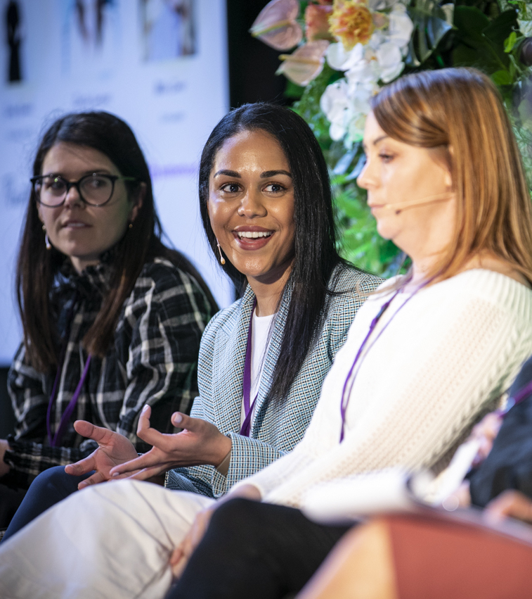 Photo of Be MPowered 2019 panel discussion