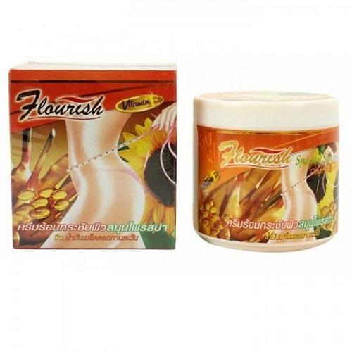 8.Kem tan mỡ bụng gừng ớt Flourish Thái Lan