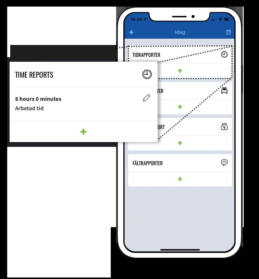 fieldlys tidrapportering app
