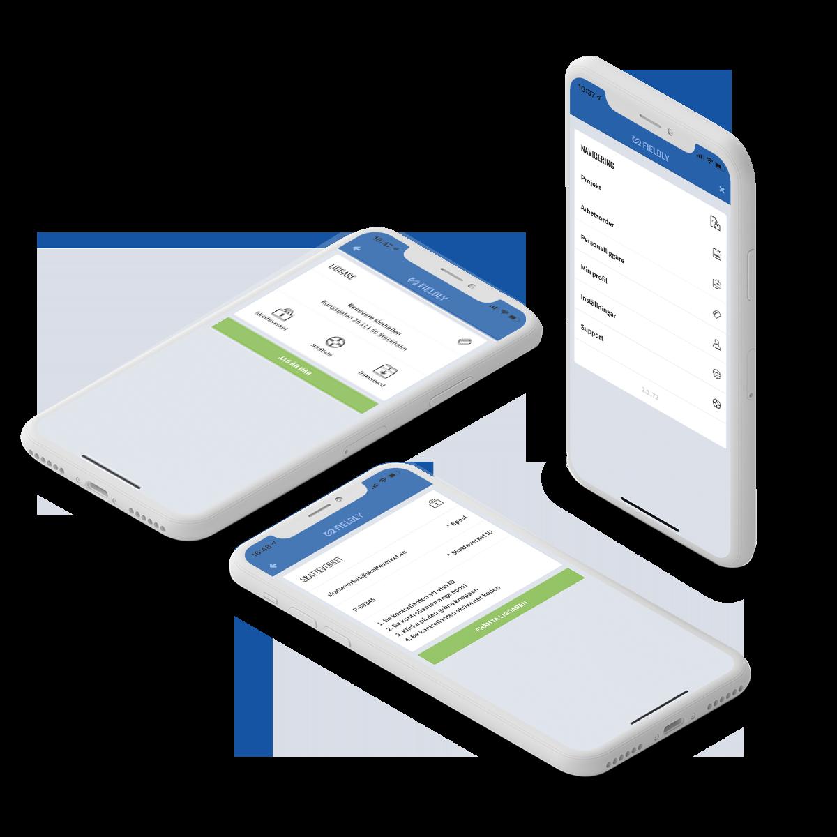 fieldlys personalligare app