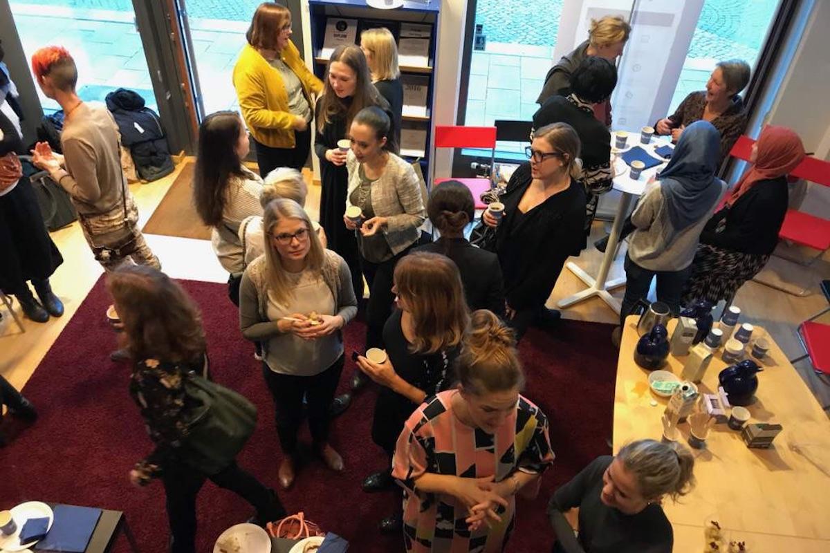 Stor uppslutning när Women in Entrepreneurship samlades hos Fieldly