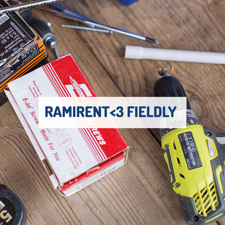 Så använder Ramirent Fieldlys digitala projekthanteringsverktyg