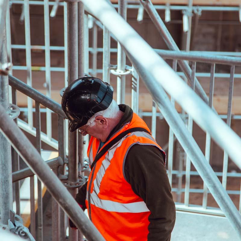 Platschefen påverkar säkerheten på bygget – ny forskningsstudie
