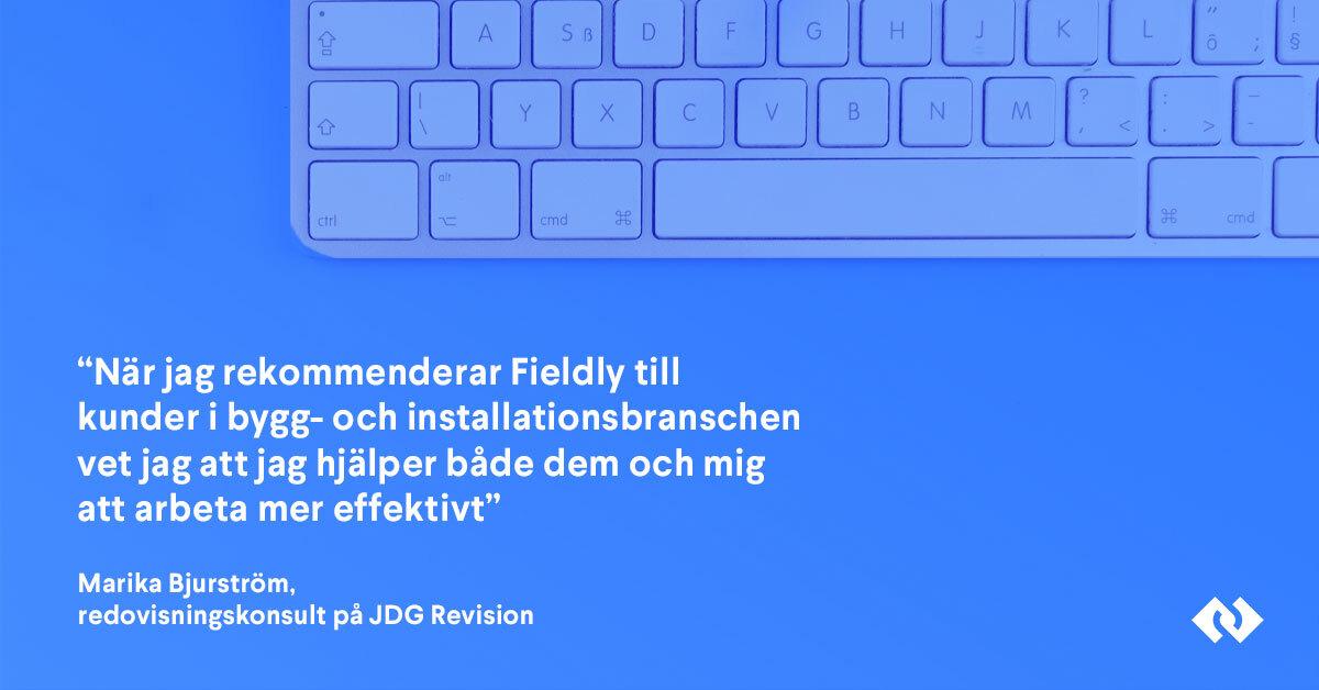 Fieldly och Sveriges redovisningsbyråer effektiviserar byggbranschen genom uppskattat partnerprogram