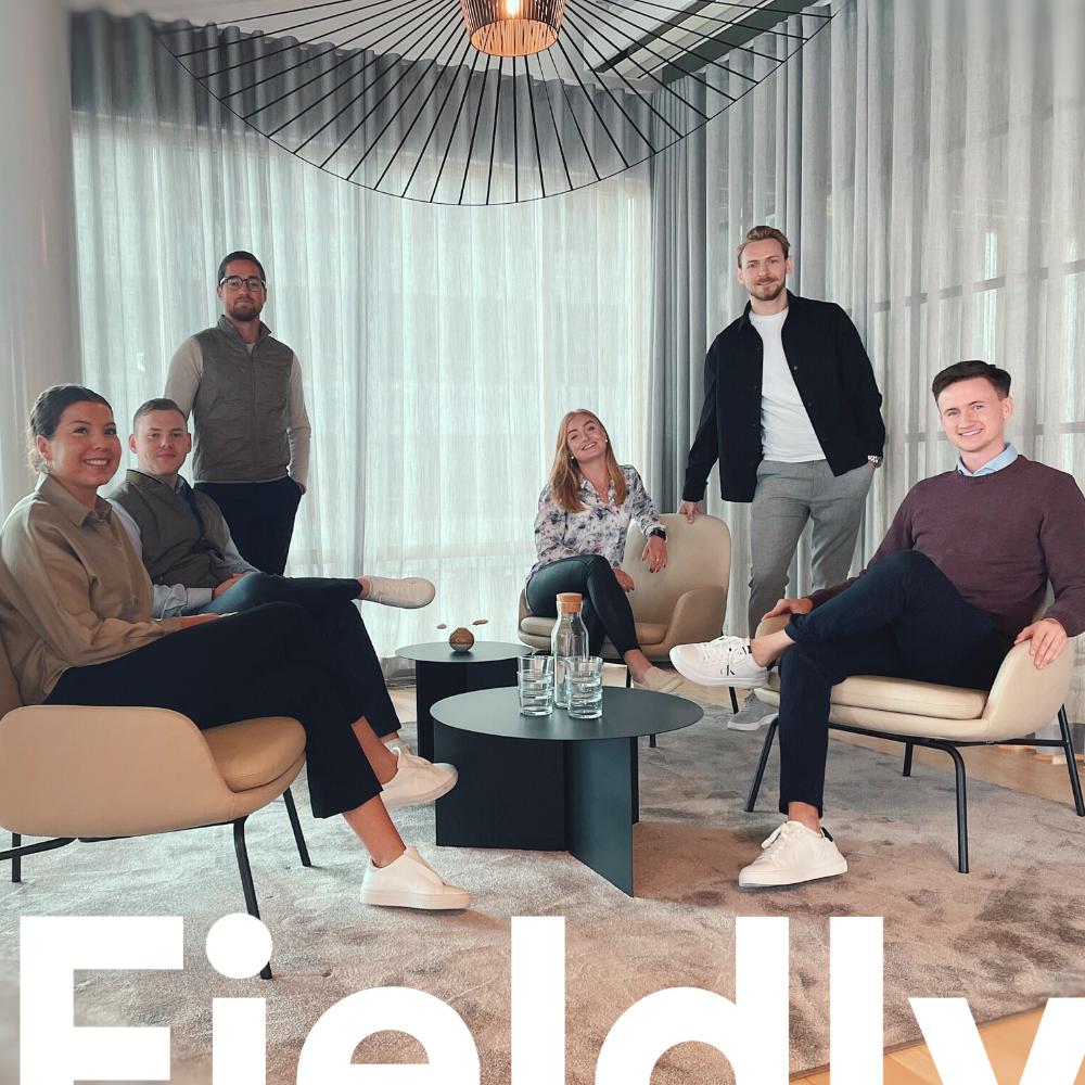 Fieldly välkomnar 6 nya stjärnskott till huvudkontoret i Malmö