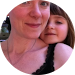 Cassie and daughter - google review circular image