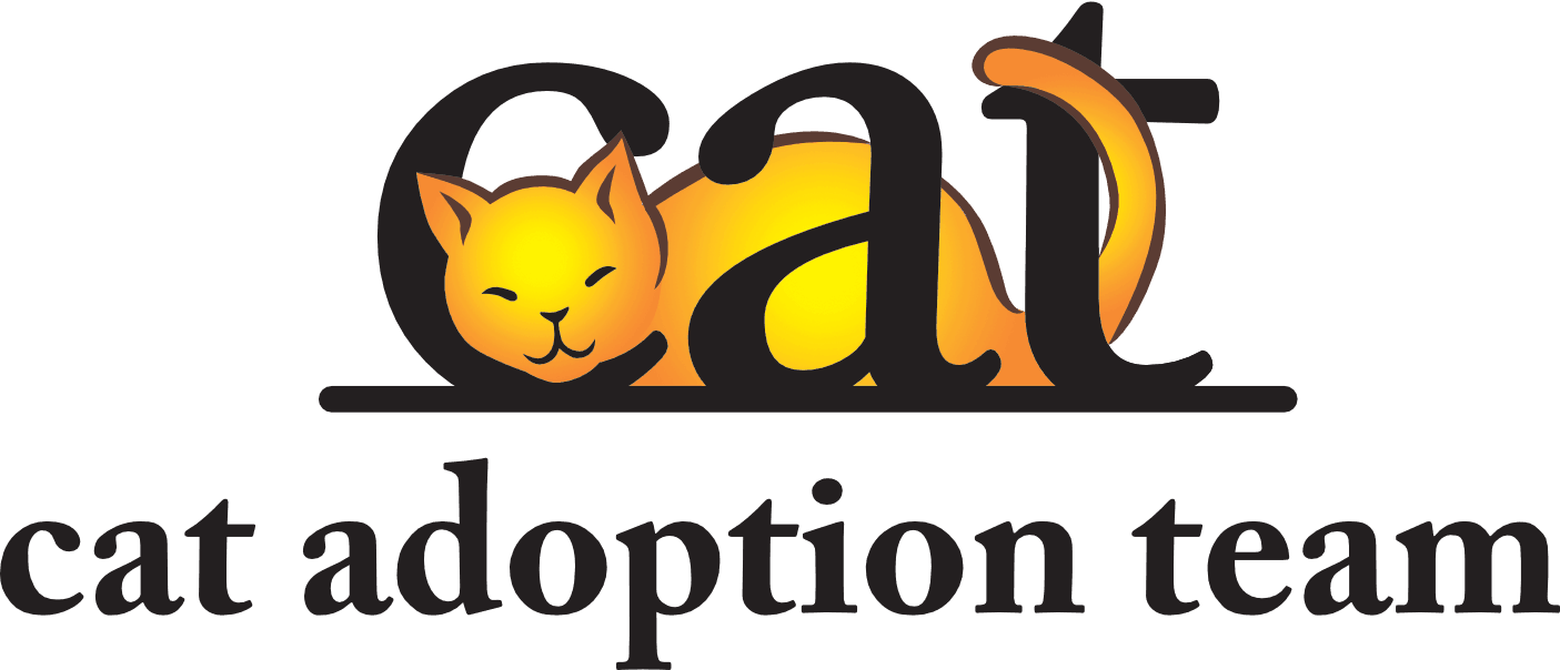 Cat adoption team charity logo