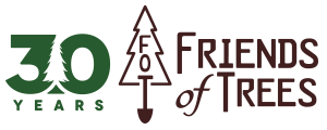 Friends of Trees charity logo