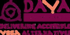 Daya Foundation - Delivering Accessible Yoga Alternatives - charity logo