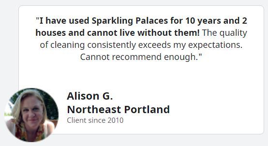 Alison G Quote snippet from google review