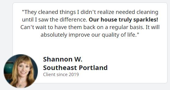 Shannon W quote snippet from google review