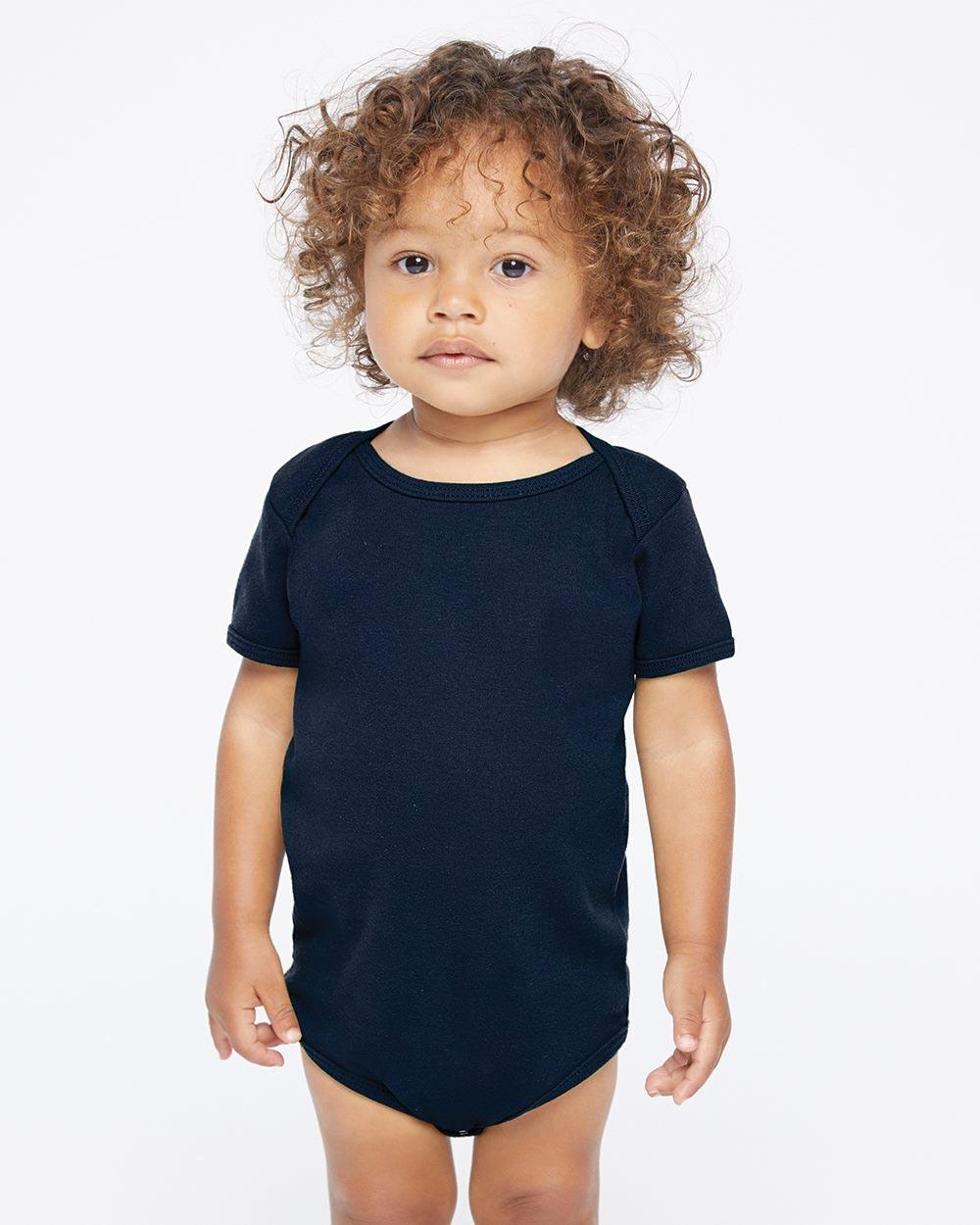 American Apparel 4001W - Infant Baby Rib Onesie