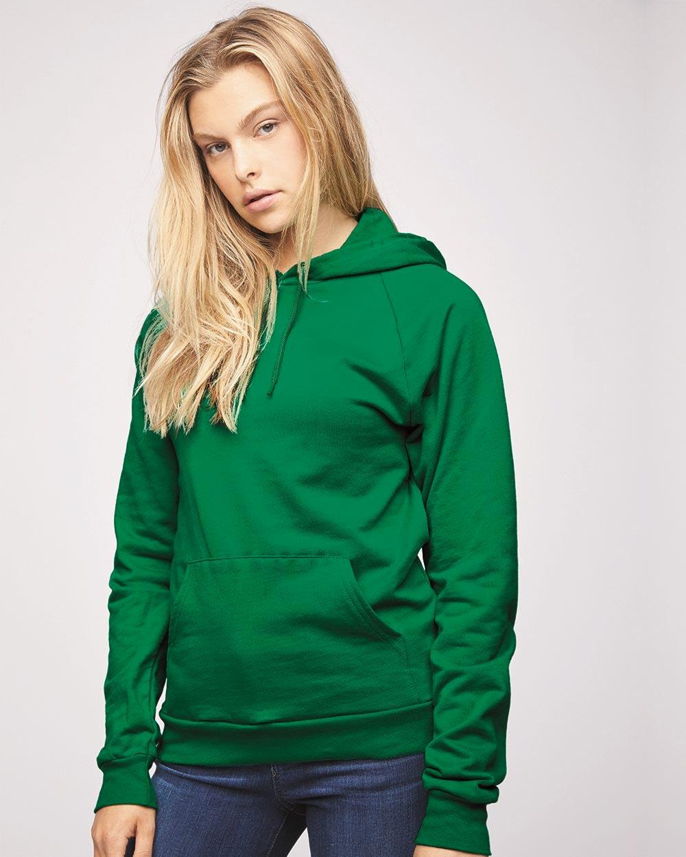 American Apparel 5495W - California Fleece Unisex Hoodie
