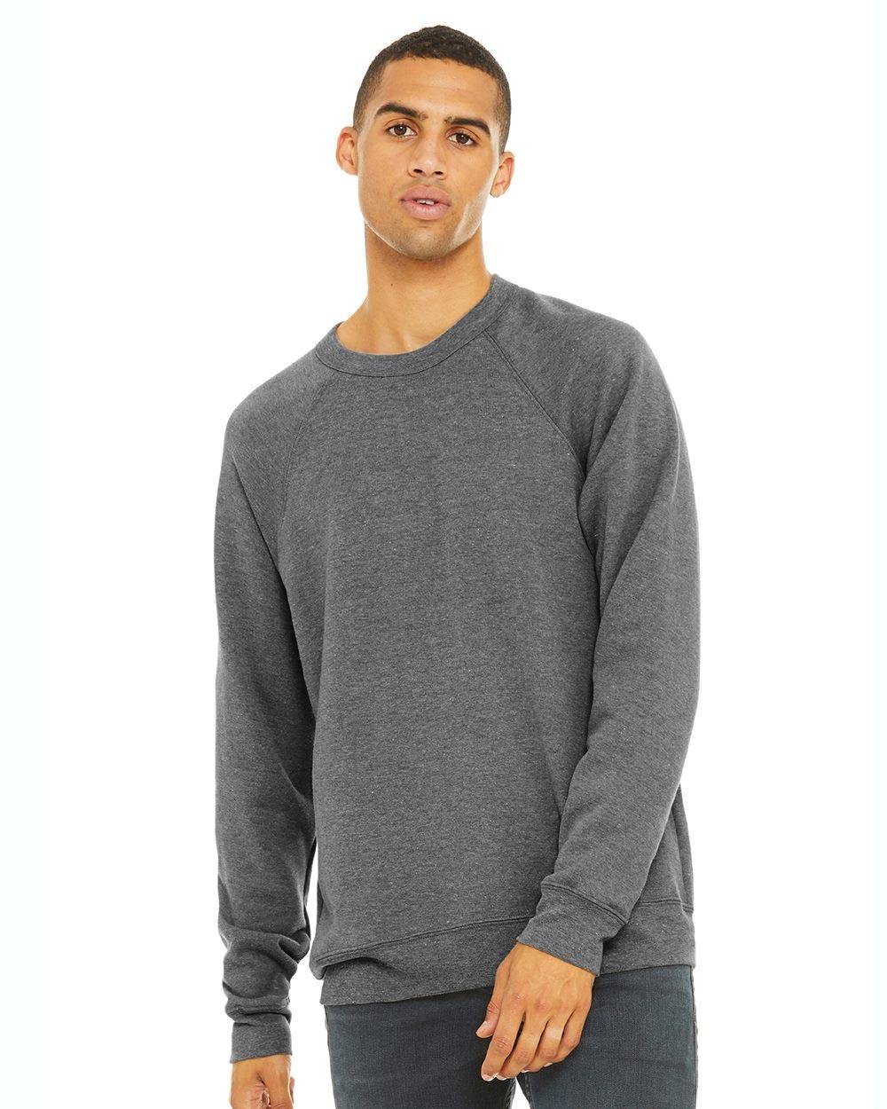Bella + Canvas 3901 - Unisex Sponge Fleece Raglan Sweatshirt