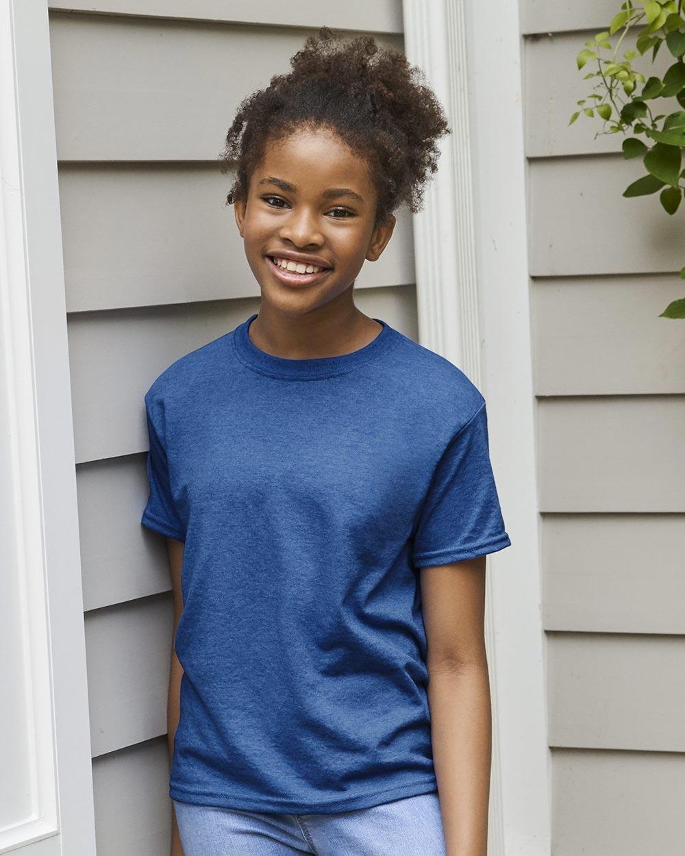 Gildan 8000B - DryBlend Youth T-Shirt