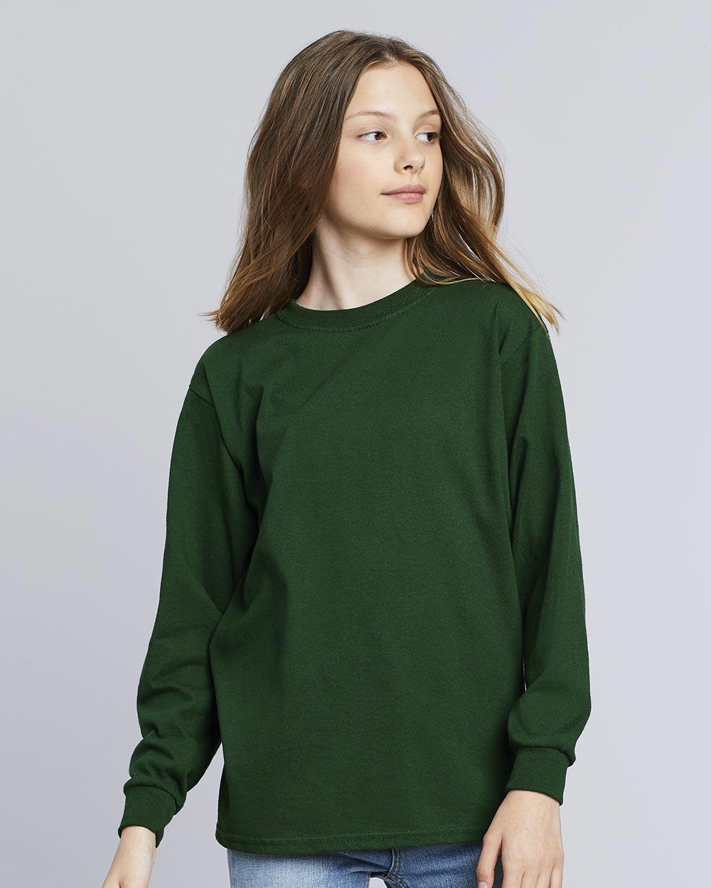 Gildan 5400B - Heavy Cotton Youth Long Sleeve T-Shirt