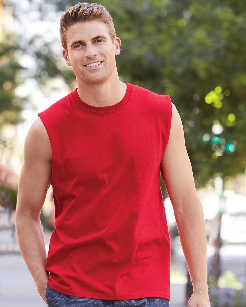 Gildan 2700 - Ultra Cotton Sleeveless T-Shirt