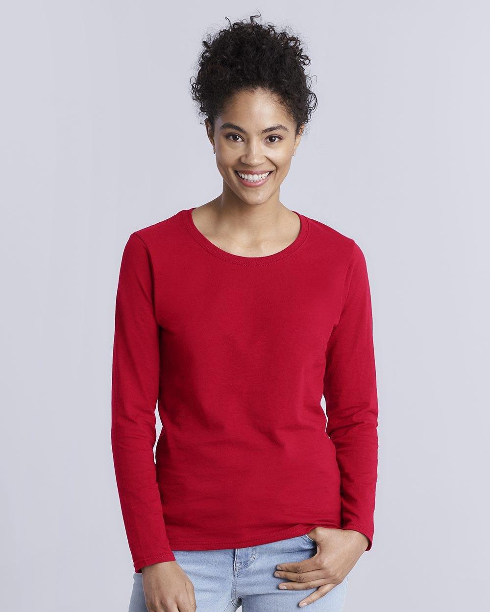 Gildan 5400L - Heavy Cotton Women's Long Sleeve T-Shirt