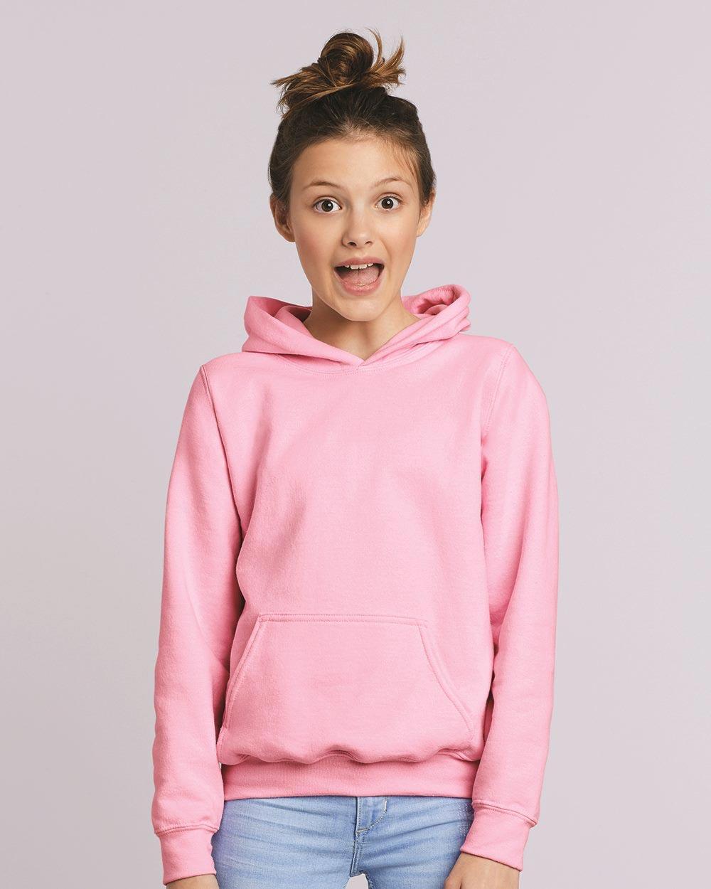 Gildan 18500B - Heavy Blend Youth Hooded Sweatshirt