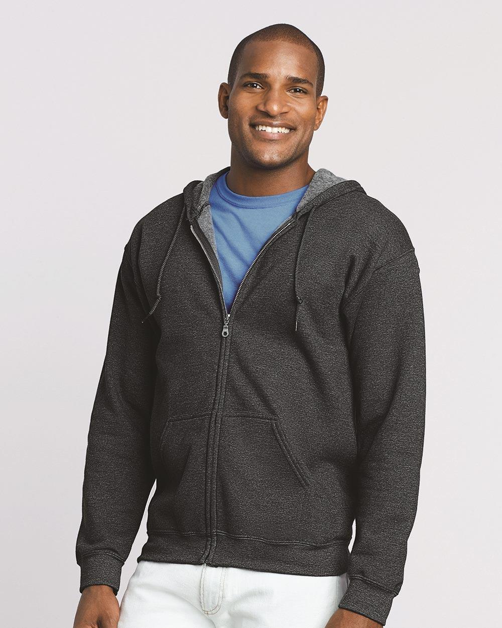 Gildan 18600 - Heavy Blend Full-Zip Hooded Sweatshirt