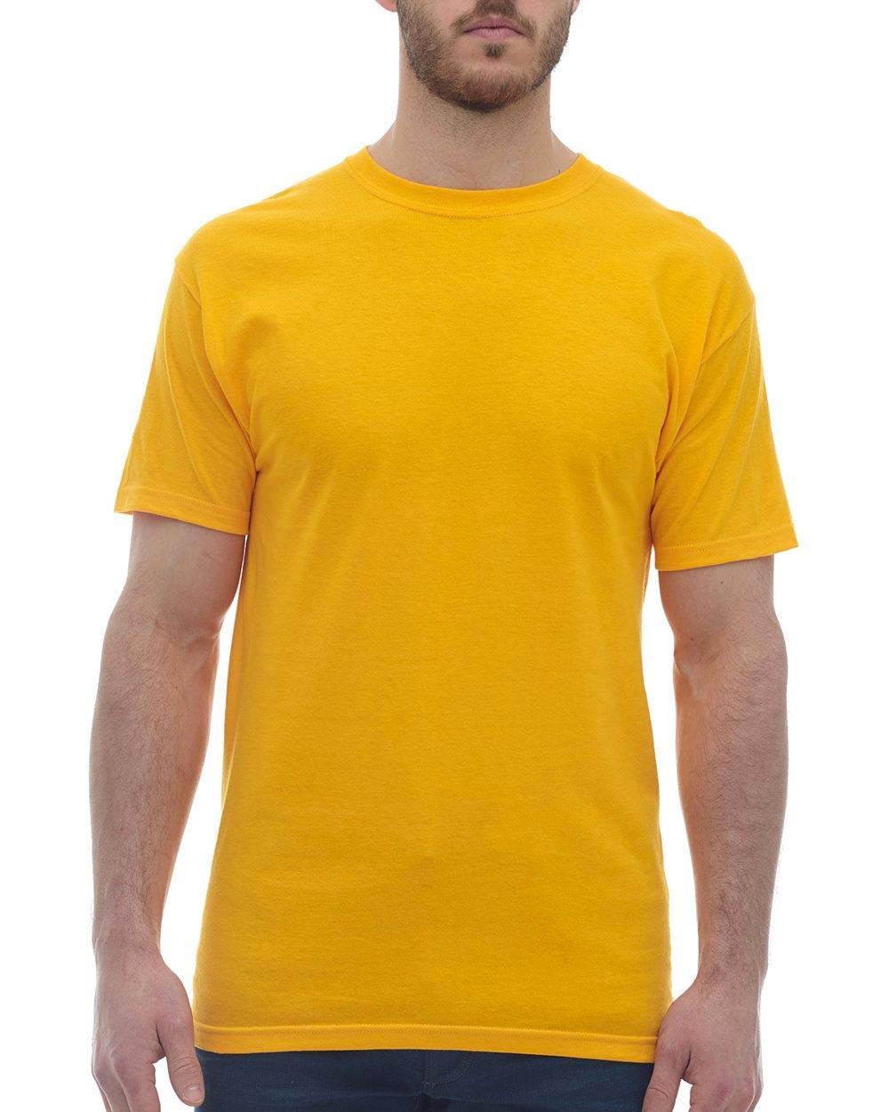 M&O Knits 4800 - Gold Soft Touch T-Shirt
