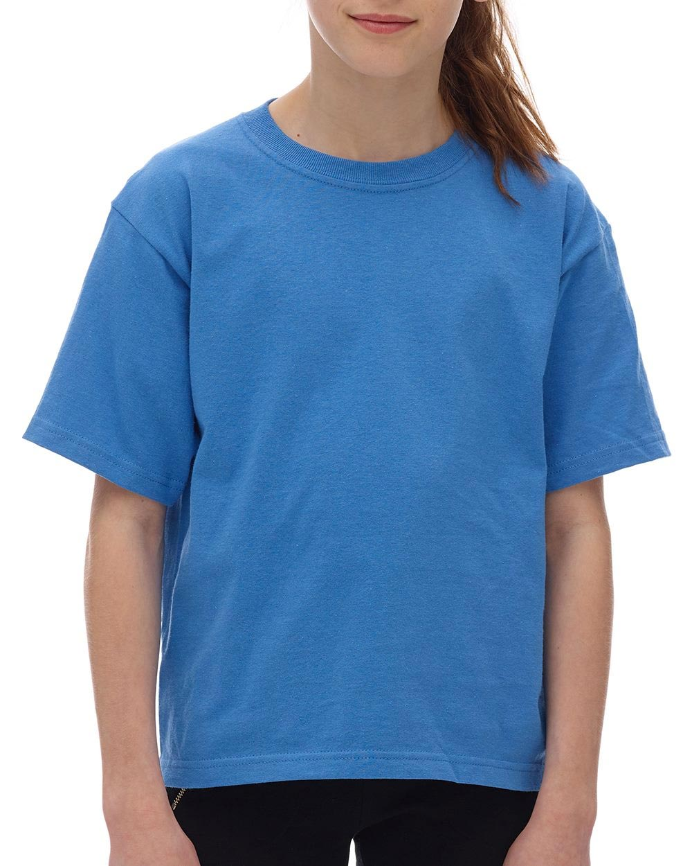 M&O Knits 4850 - Youth Gold Soft Touch T-Shirt
