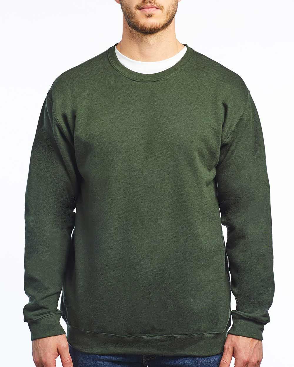 M&O Knits 3340 - Unisex Crewneck Sweatshirt