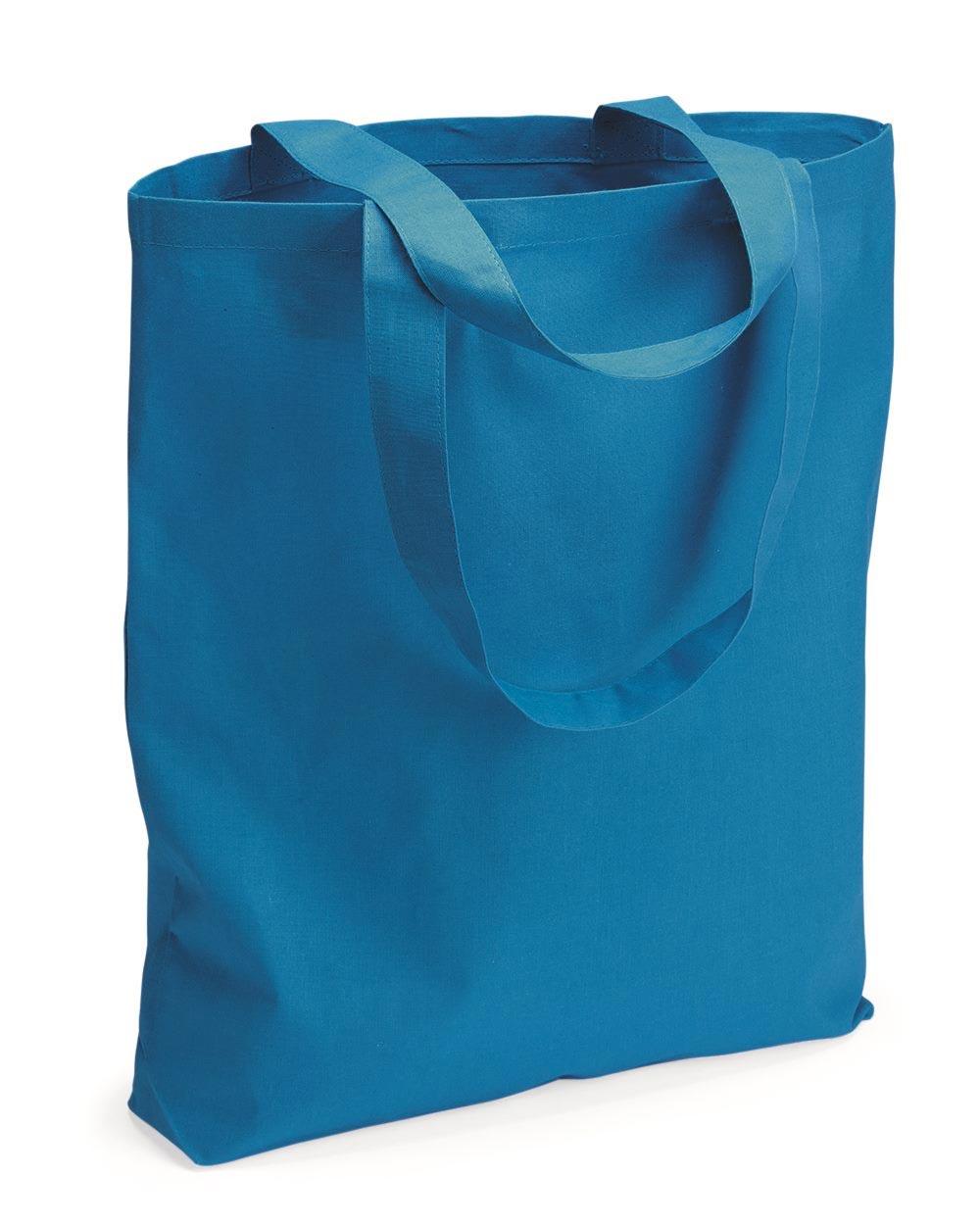 Q-Tees QTBG - 12L Gusseted Economical Tote Bag