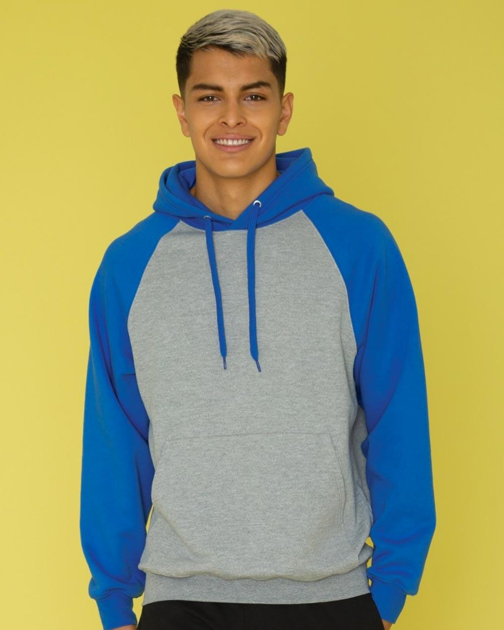 ATC F2550 - Everyday Fleece Two Tone Hooded Sweatshirt