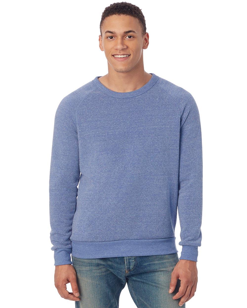 Alternative Apparel AA9575 - Unisex Champ Eco-Fleece Solid Sweatshirt