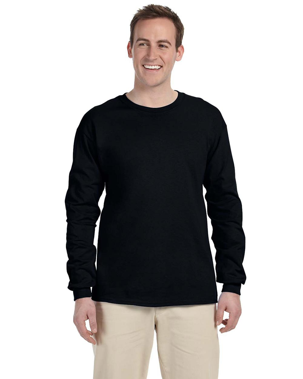 Fruit Of The Loom 4930 - Adult 8.3 oz HD Cotton Long-Sleeve T-Shirt