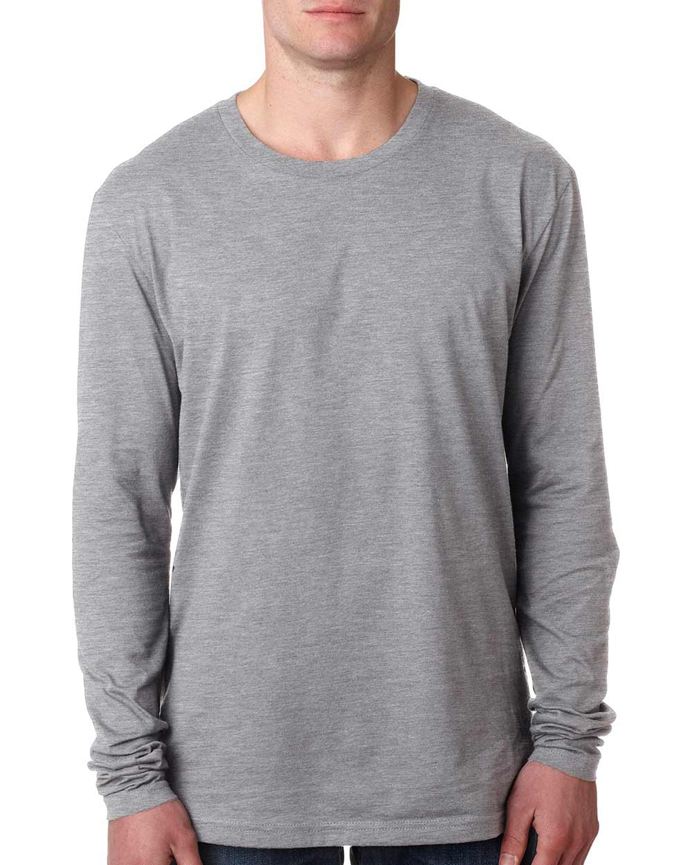 Next Level 3601 - Men's Cotton Long-Sleeve Crew T-Shirt