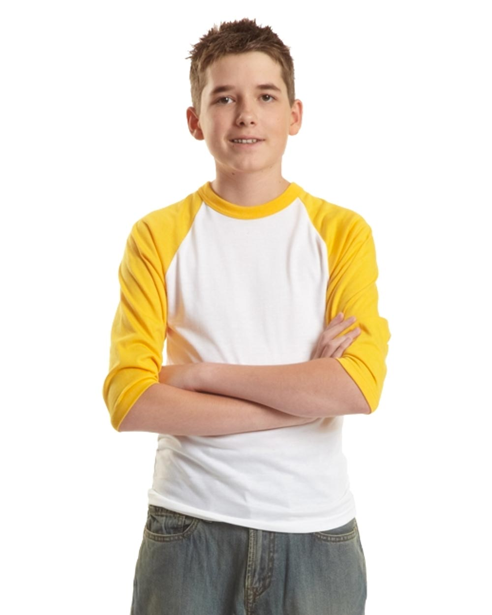 Jerico Youth 3/4 Sleeve Baseball T-Shirt