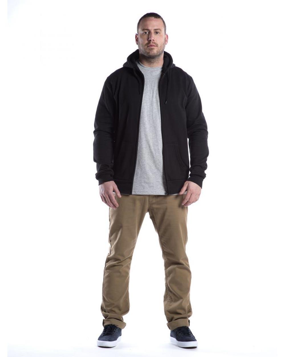 HS Apparel Full Zip Hooded Sweatshirt