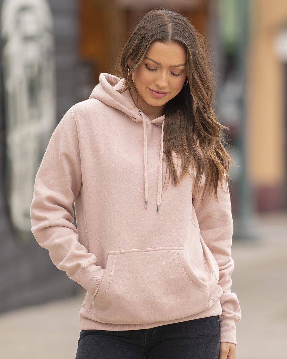 Independent Trading Co. IND5000P - Unisex Premium Heavyweight Cross-Grain Hooded Sweatshirt
